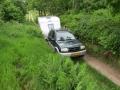 Fosdalen på vej mod svinkløv. En gps overraskede