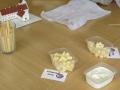 Smagsprøver på nogle få af ostene fra Ingstrup Mejeri. Go'e sager!!!