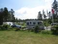En langvarig kø ved indkørslen til Svinkløv Camping forhindrede ret effektivt al anden færdsel i begge retninger - Ups! Det var jo BTN, der var køen